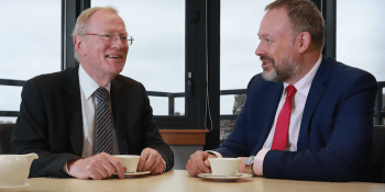 Jock Millican of Equity Gap and Bruce Farquhar of Anderson Strathern