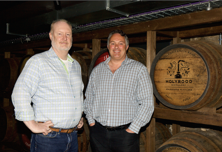Rob Carpenter and David Robertson Holyrood Distillery