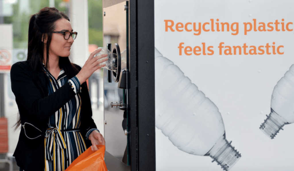 Sainsbury's recycling machine
