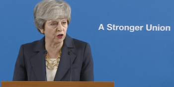 Theresa May in Stirling