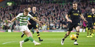 James Forrest scores v AIK