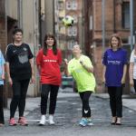 Carol Campbell, Liz Dee, Rebecca Hook Caroline McLean, Katie Kerr and Laura Cooper