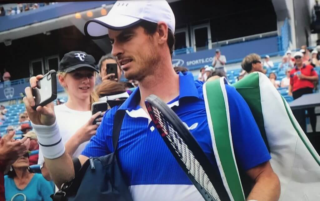Andy Murray in Cincinnati