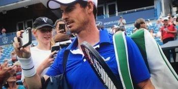 Andy Murray in Cincinnati