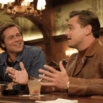 Pitt and di Caprio in Once Upon a Tiime in Hollywood