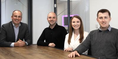 Grant Fraser Iain Wilcox, Lynsay Cameron and Steven Richardson
