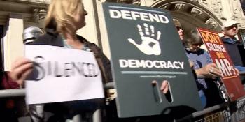 Supreme court protestors