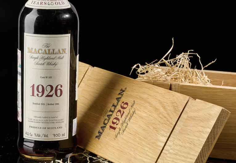 Macallan record sale
