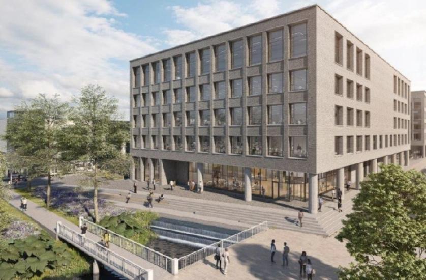 Paraboloa development in Edinburgh
