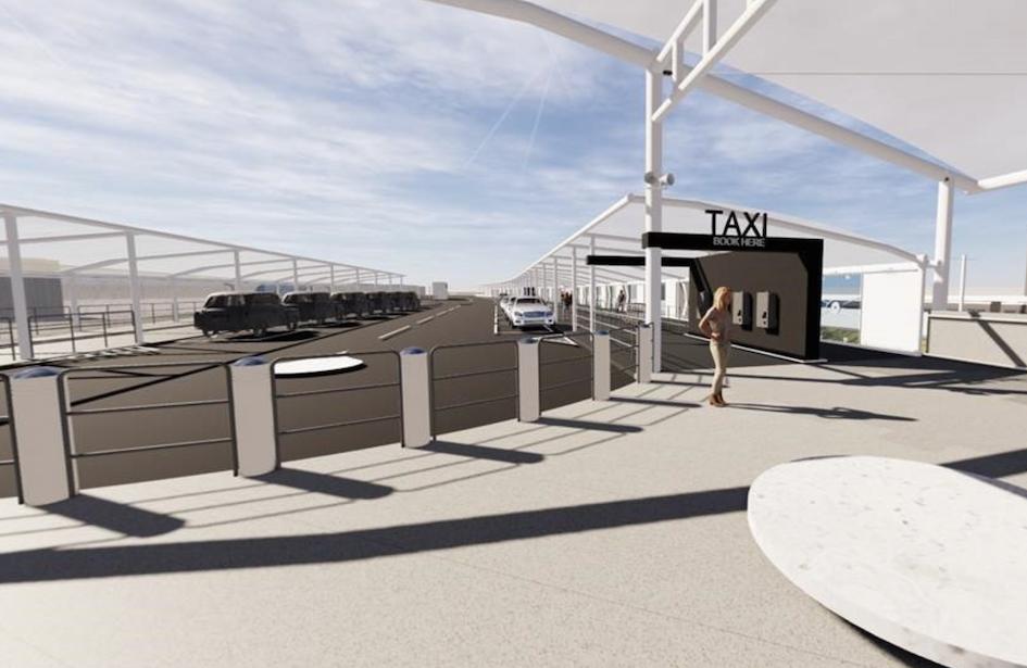 Taxi-rank-at-Airport