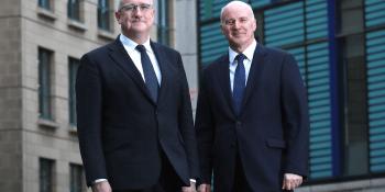 John Brett and Graham Clark