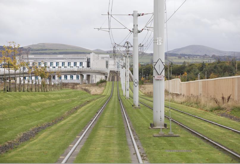 Edinburgh tram line