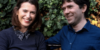 Amy Williams and Daniel Winterstein