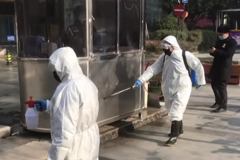 Coronavirus disinfecting