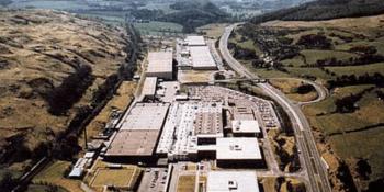 Former IBM plant Greenock