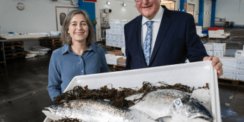 Julie Hesketh-Laird and Fergus Ewing
