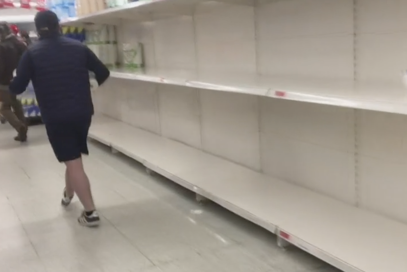 Supermarket-shelves-stripped