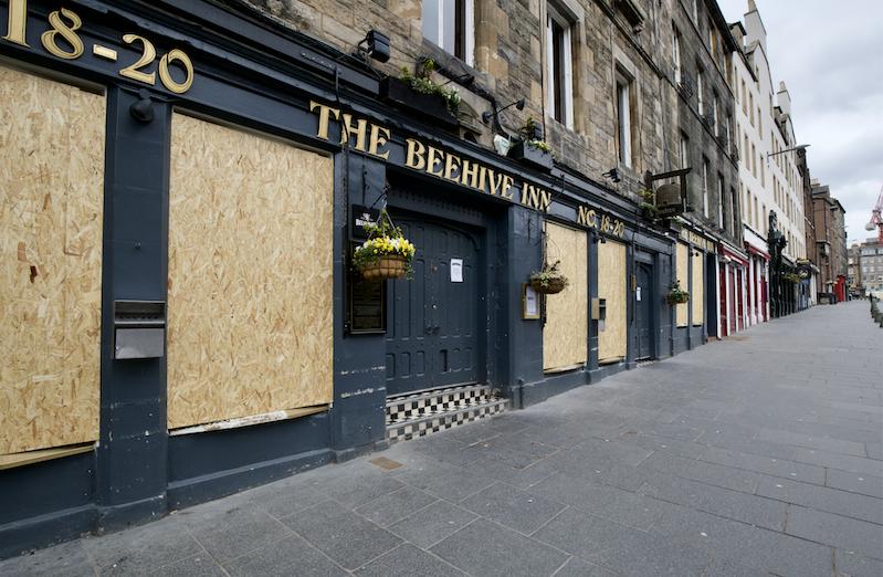 Beehive Inn pub Grassmarket