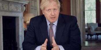 Boris Johnson speech in Downing Street