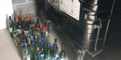 Bottles and recycling