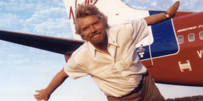 Branson and Virgin website