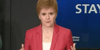 Nicola Sturgeon May 11