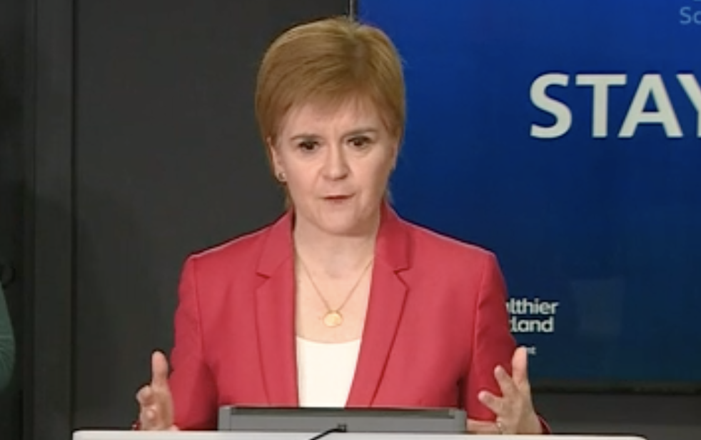 Nicola Sturgeon May 11