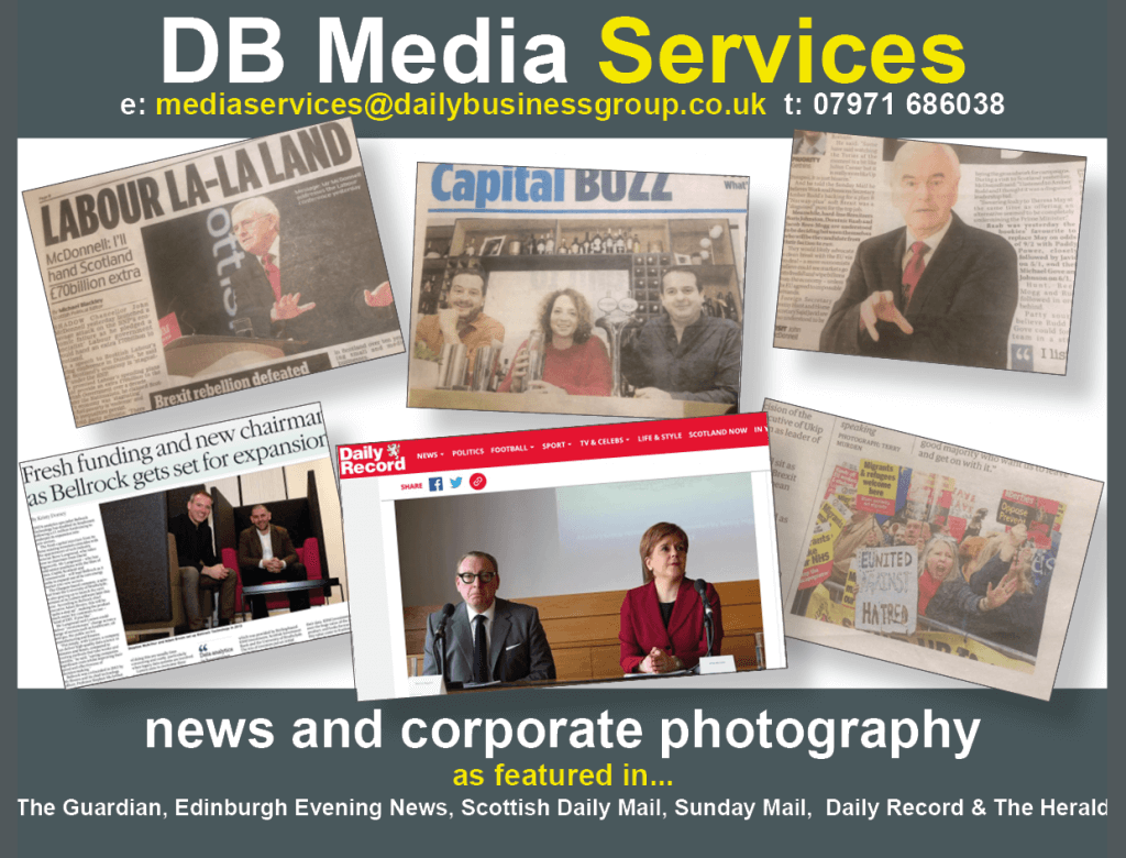 DB Media Services News and corporate photography