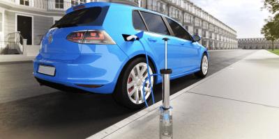 Trojan Energy EV charging point