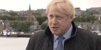 Boris Johnson in Orkney