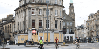 Cycling-in-Edinburgh