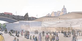 Edinburgh Waverley plan