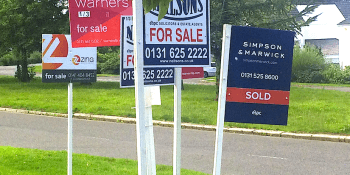 Homes for sale boards