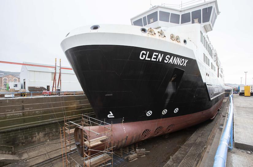 Glen Sannox ferry
