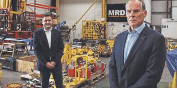 Ian McGillivray and MRDS Executive Chairman, Ronnie Garrick