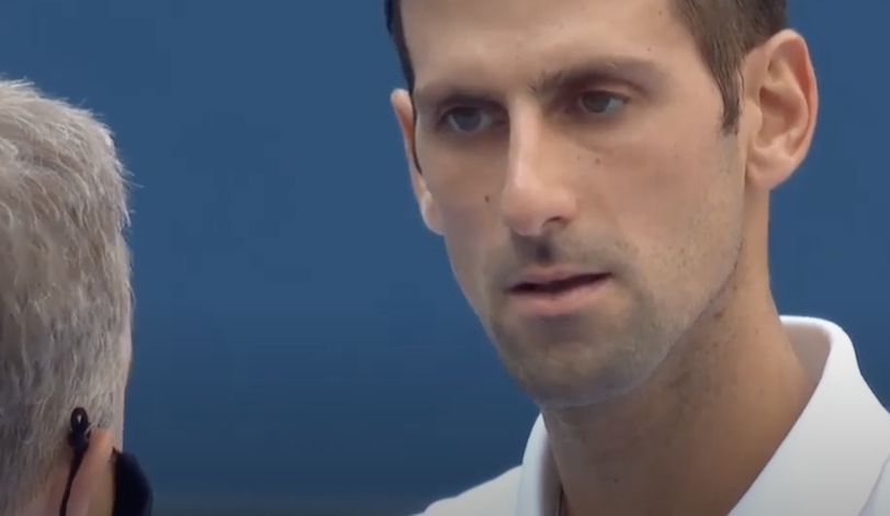 Djokovic Thrown Out Of Us Open After Ball Hits Judge Daily Business