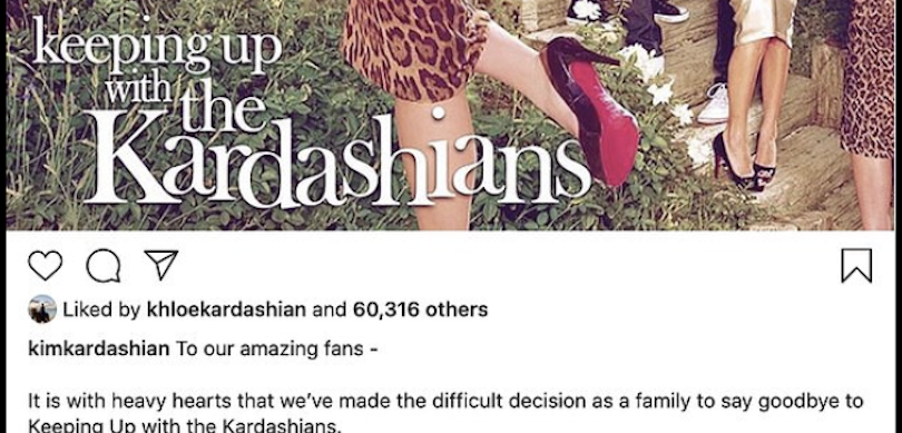 Kardashian message