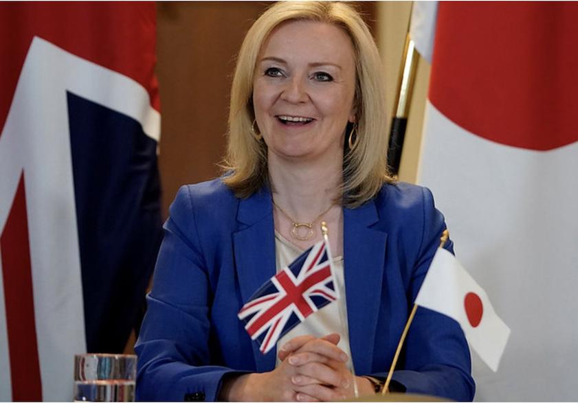 Liz Truss Downing Street handout