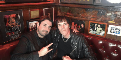 Ruaridh Currie and Richie Ramone