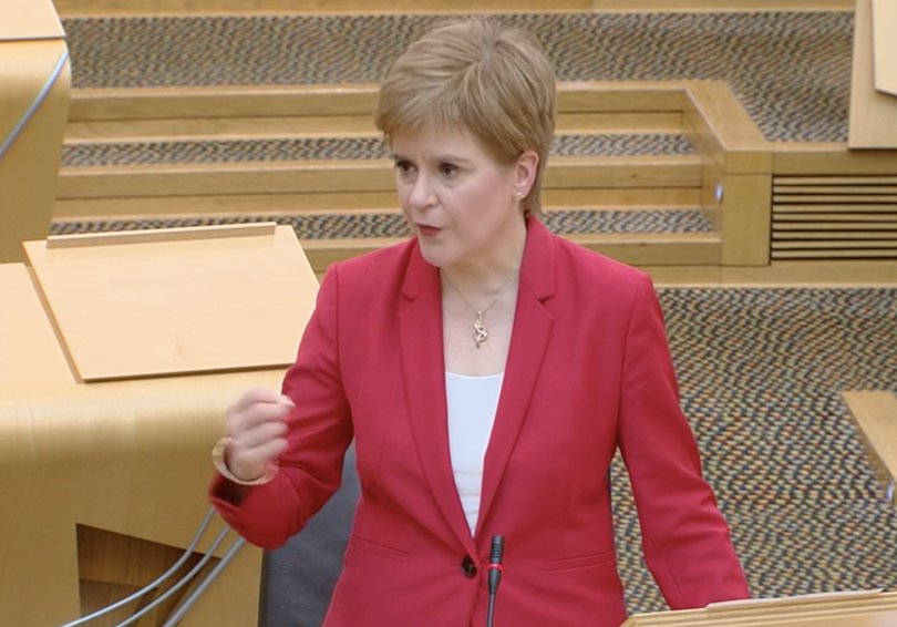 Nicola Sturgeon-parliament-10-Sept