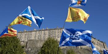 independence march Edinburgh October 2018