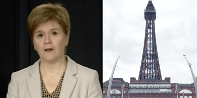 Sturgeon and Blackpool Tower