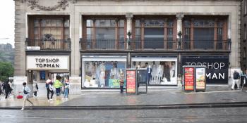 Top Shop Edinburgh