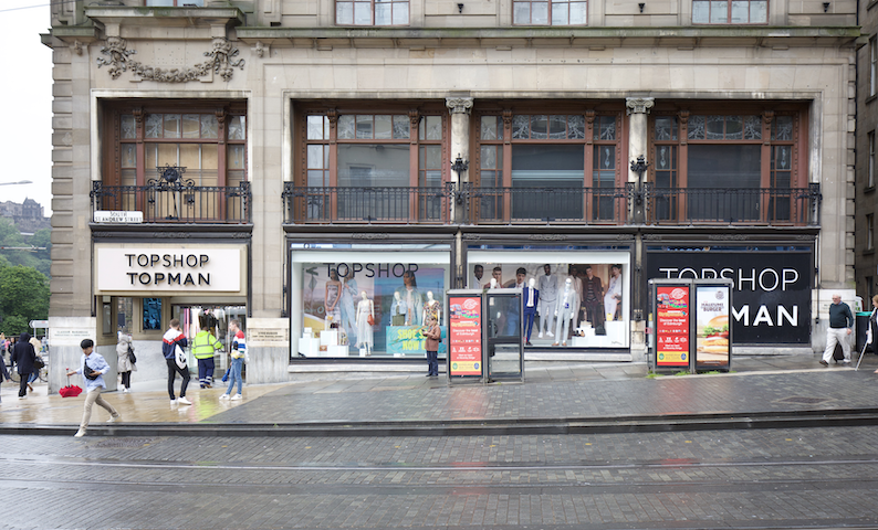 Top Shop Edinburgh