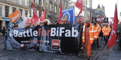 BiFab protest 2017