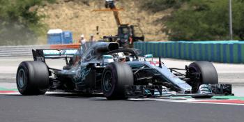 Mercedes racing car