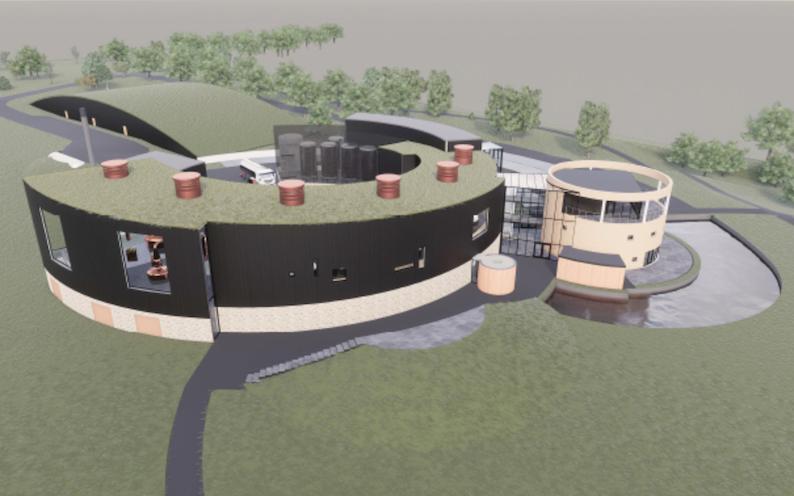 The Cairn distillery