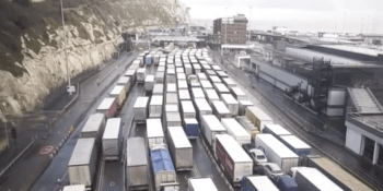 lorries at Dover