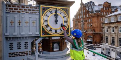 Johnnie Walker clock