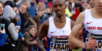 Mo Farah in Edinburgh
